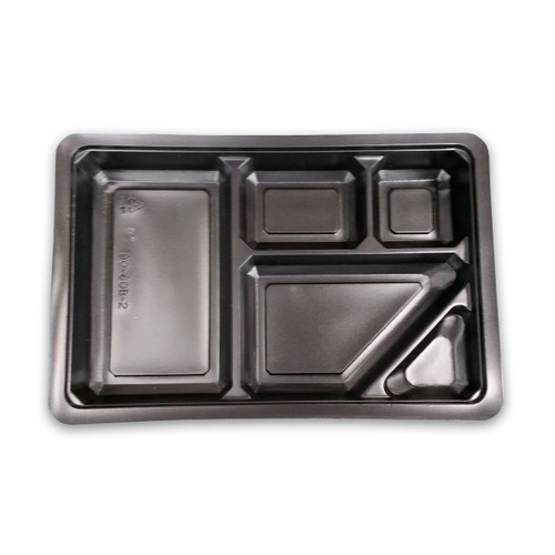 "Tsubaki Take Out Bento Box Inside Compartment 10.75"" x 7"" (50/pack)"