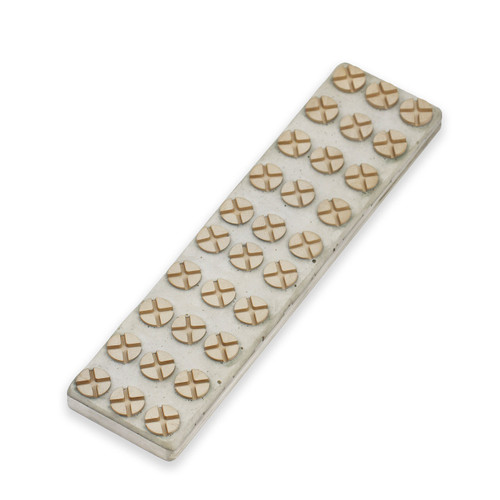 Nano Hone NL-8 Button Tech Lapping Plate for Sharpening Stone from 400 grit to 30,000 grit