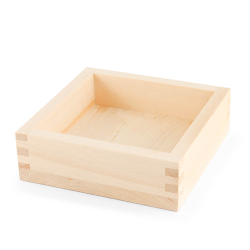 "Square Cypress Tray 6.73"" x 6.73"""