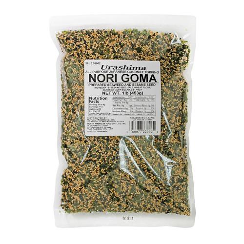 Urashima Furikake Roasted Sesame and Seaweed (Nori Goma) 1lb / 453g