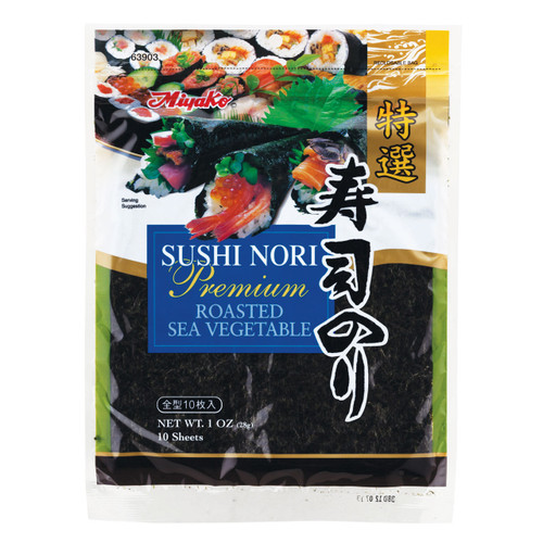Miyako Premium Sushi Nori Seaweed 10 Sheets