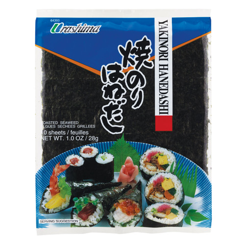 Urashima Hanedashi Sushi Nori Seaweed 10 Sheets