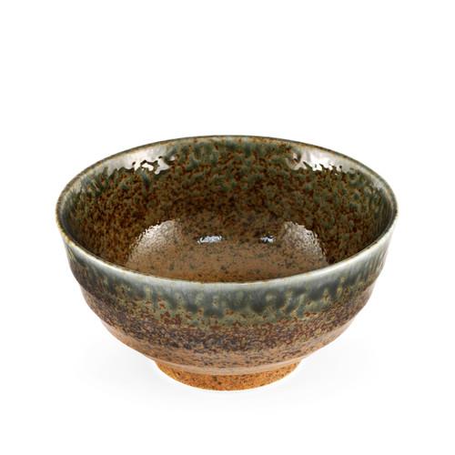 "Ainagashi Blue Earthy Noodle Bowl 33 fl oz / 6.65"" dia"