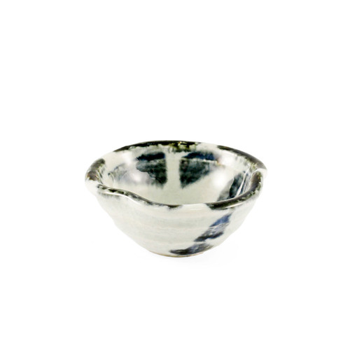 "Gosu-Blue and White Kobachi Bowl 2.9"" dia"