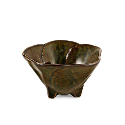 "Oribe Green Hana Kobachi Bowl with 3 Legs 2.7 fl oz / 3.2"" dia"