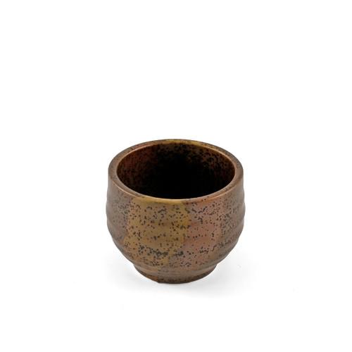 Bizen Brown Ceramic Sake Cup 2.4 fl oz