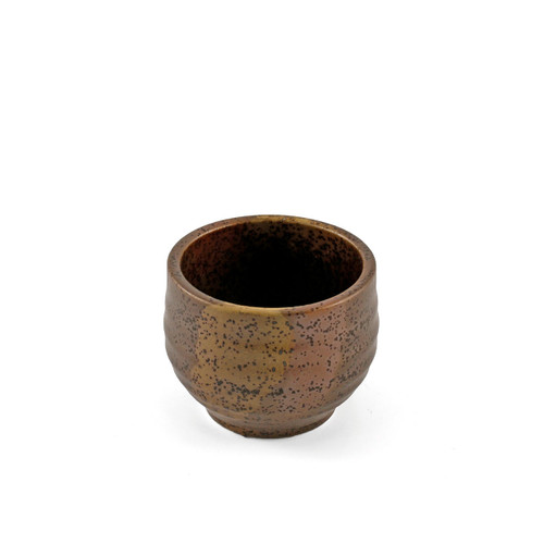 Bizen Brown Ceramic Sake Cup 2.4 fl oz