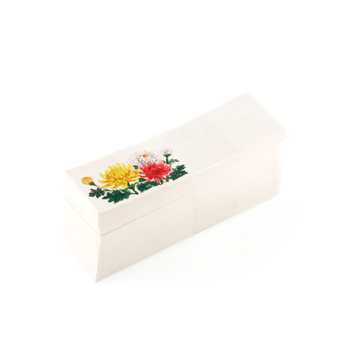 Japanese Daisy Chopstick Sleeve (250/pack)