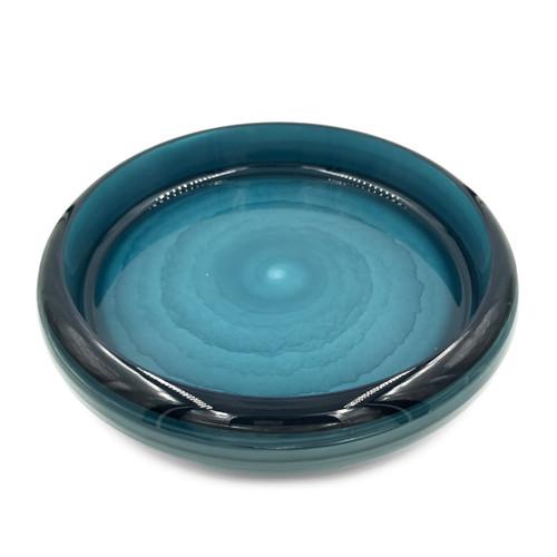 "20% Off with code SUSHI20 - Cobalt Marble Sushi Serving Tray (Sushi Oke) 12.4"" dia"