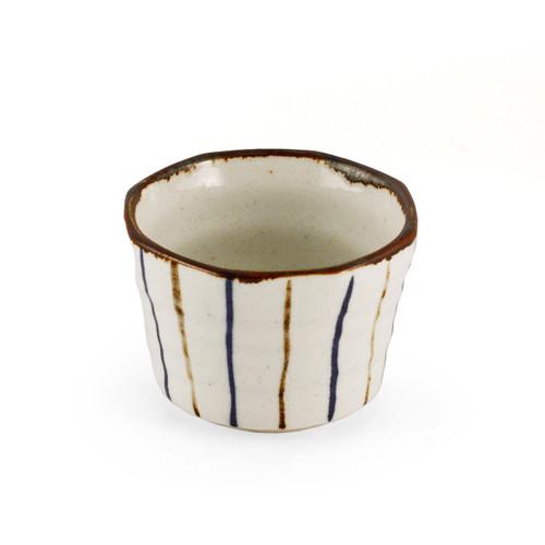 """[NEW] Striped Kobachi Bowl 2.95"""" dia"""
