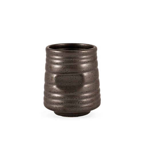 Black Speckled Tea Cups 10 fl oz