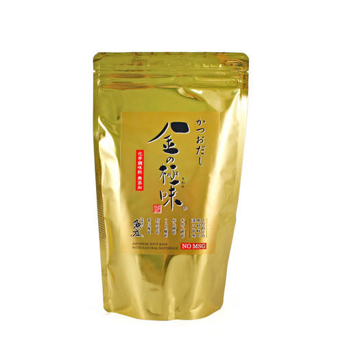 金の極味 No MSG Dashi Packs - Bonito, Kelp, Shiitake, Mackerel & Herring 1.76 oz x 8 packs