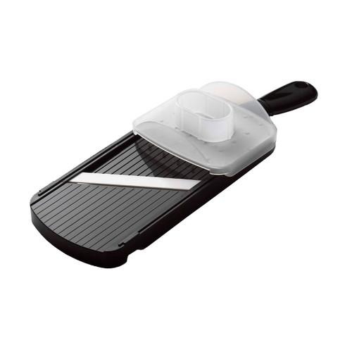Kyocera Advanced Ceramic Mandoline Slicer with 4-Thickness Adjustable Dial Black CSN-202