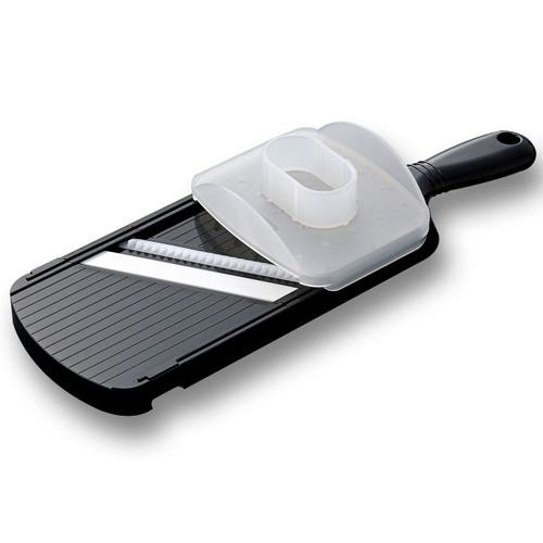 Kyocera Advanced Ceramic Wide Julienne Slicer w/Handguard Black CSN-182S
