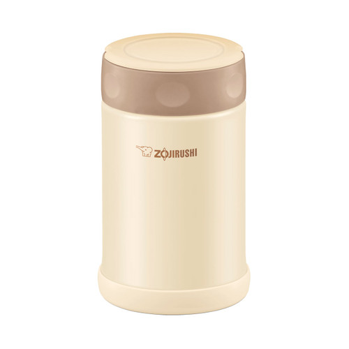 Zojirushi Stainless SlickSteel Food Thermos 17 oz Cream SW-EAE50CC