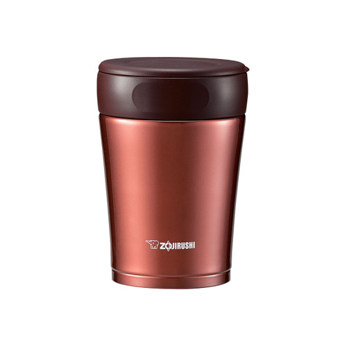 Zojirushi Stainless SlickSteel Food Thermos 12 oz Nut Brown SW-GCE36-TA