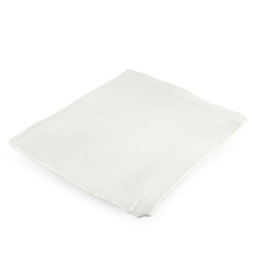 "Hakuji Glossy White Square Dinner Plate 11.02"" x 11.57"""