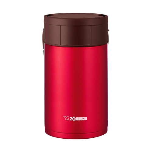 Zojirushi Stainless SlickSteel Food Thermos 19 oz Metallic Red SW-HAE55RM