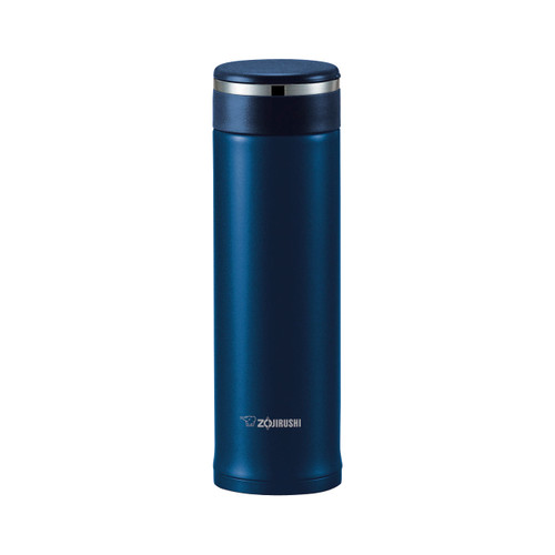 Zojirushi Stainless Steel Travel Mug with Tea Leaf Filter 16 oz Deep Blue SM-JTE46AD