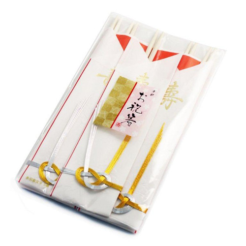 "9.5"" Disposable Mizuki Chopsticks for Cerebration (5 pairs/pack)"