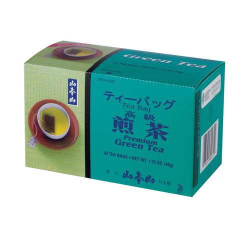 Yamamotoyama Premium Sencha Green Tea 20 Tea Bags