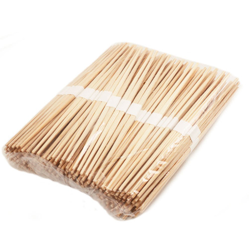 "9.5"" Disposable Cedar Chopsticks Bundled, Double Tips - 100 Pairs / Pack"
