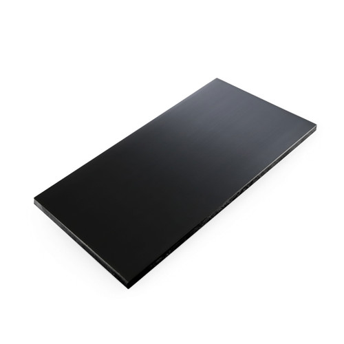 "Tenryo Black Grainy High Contrast Cutting Board 39.4"" x 15.75"" x 0.75"""