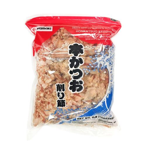 Yamaki Hon-Katsuo Dried Bonito Flakes 1 lb / 454g