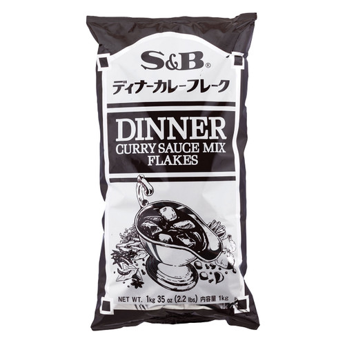 S&B Dinner Curry Sauce Mix 2.2 lbs / 1 kg