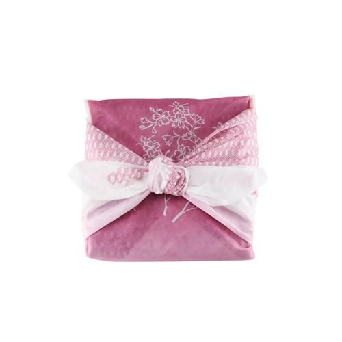 "Furoshiki Paper-Woven Wrapping Cloth Kikko Flower 35.4"" x 35.4"""