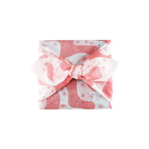 "Furoshiki Paper-Woven Wrapping Cloth Ume Flower 35.4"" x 35.4"""