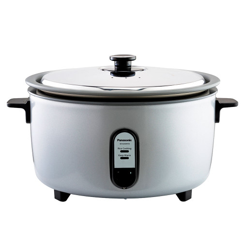 Panasonic 30 Cup NSF Rice Cooker with Aluminum Pan, Stainless Steel lid SR-GA541H