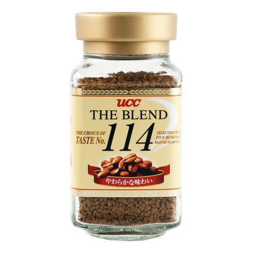 UCC The Blend 114 Instant Coffee 3.5 oz / 90g