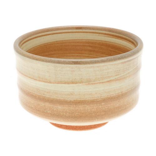 "Matcha Tea Bowl Sand Stone 20 fl oz / 4.6"" dia"