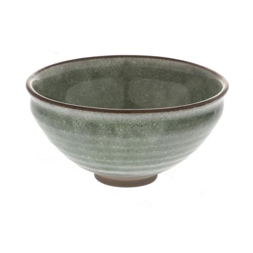 "Matcha Tea Bowl Thistle Green 13 fl oz / 4.8"" dia"