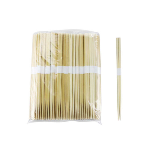 "9.5"" Disposable Bamboo Chopsticks Bundled - 3000 Pairs / Case"