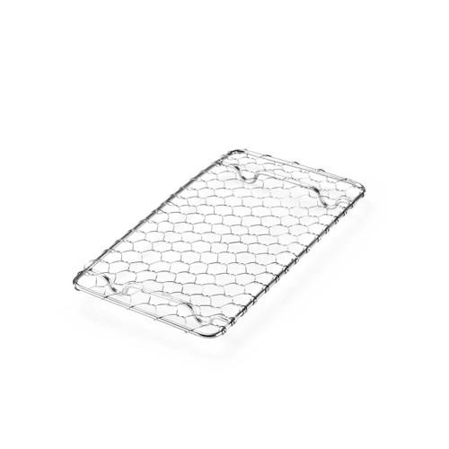 """Tonkatsu & Tempura Net Stainless Steel Rectangular 8"""" x 3.5"""""""