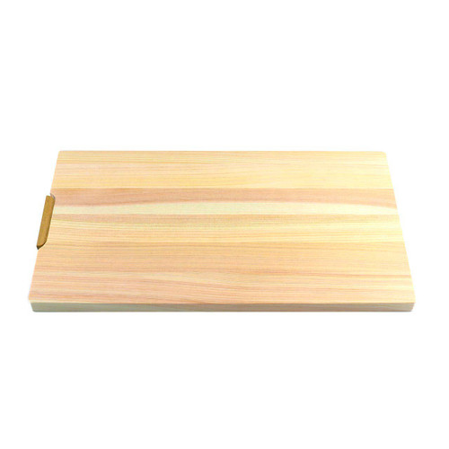 "[NEW] Hinoki (Japanese Cypress) Cutting Board w/Stand 14.4"" x 7.9"" x 0.6"" ht"