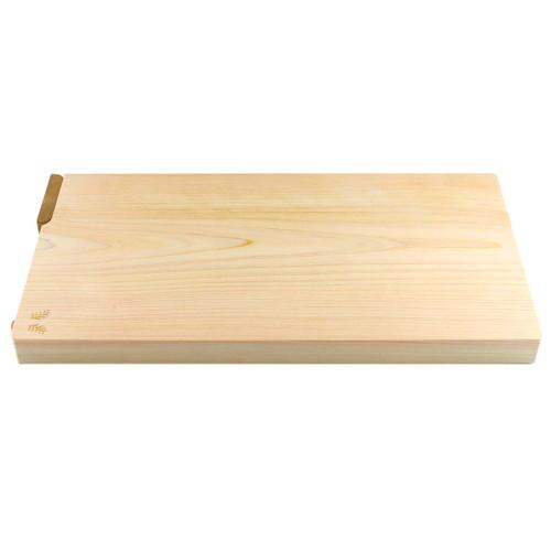 "[NEW] Hinoki (Japanese Cypress) Cutting Board w/Stand 17.7"" x 9.4"" x 1.2"" ht"