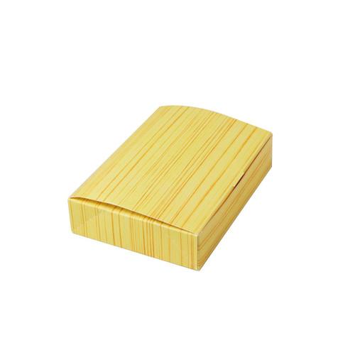 """Wooden Pattern Paper Take Out Bento Box 7"""" x 5"""" (200/case)"""