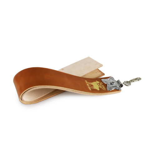 20% Off with code TOISHI20 - [NEW] Kanayama Hanging Leather Strop #80000 with Leather Case and Suade Strop