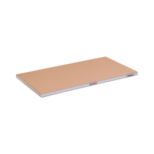 "Hasegawa Wood Core Soft Polyethylene Cutting Board Brown 0.8""-1.2"" ht"