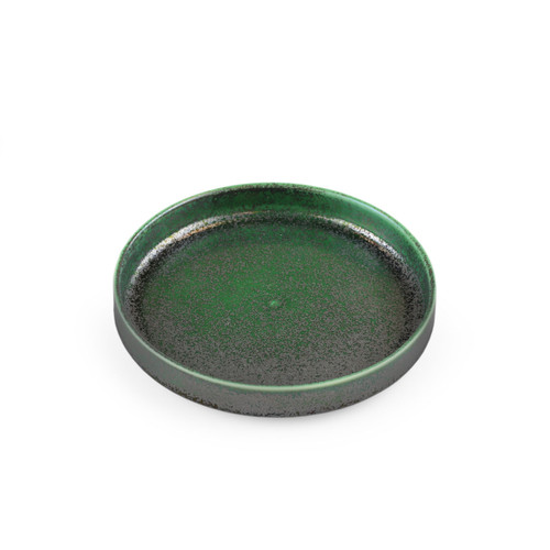 """[NEW] Ivy Green Stackable Appetizer Plate 6.3"""" dia"""