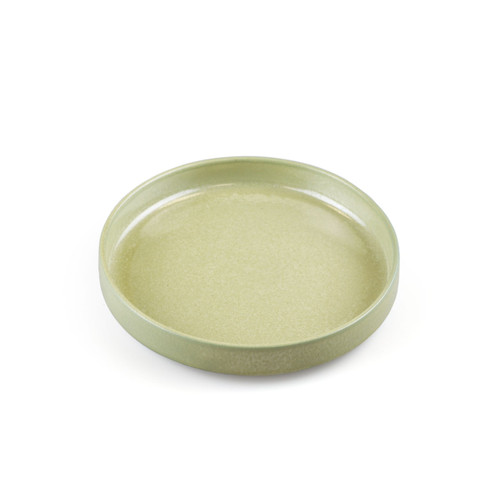 "[NEW] Pale Green Stackable Appetizer Plate 6.3"" dia"