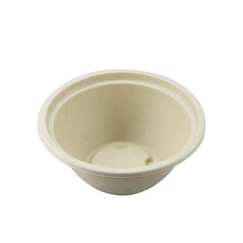 "Biodegradable Take Out Bowl 32 fl oz / 7.4"" dia (500/case) - No Lids"