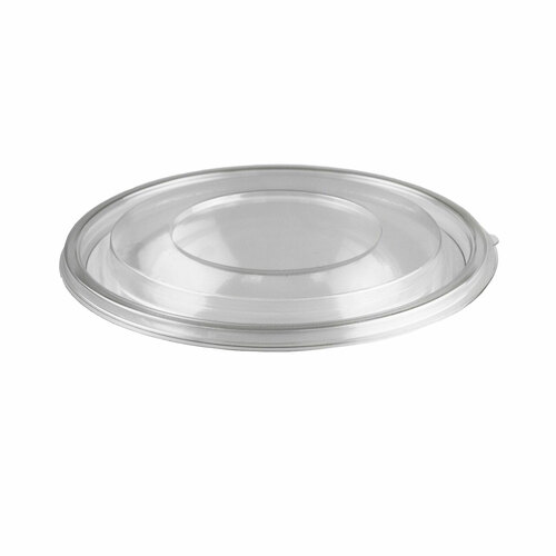 Lids for PET Clear Plastic Take Out Bowl #89411 (300/case)