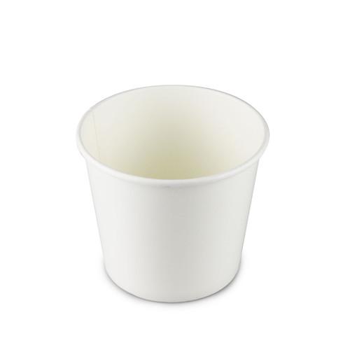 """White Paper Take Out Noodle Bowl 42 fl oz / 5.5"""" dia (300/case) - No Lids"""