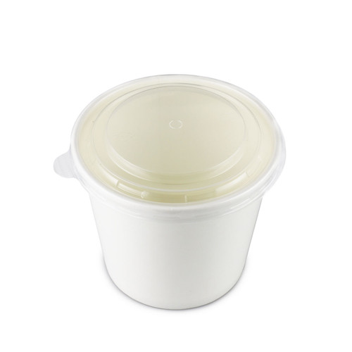 Lids for White Paper Take Out Noodle Bowl #97382 (600/case)