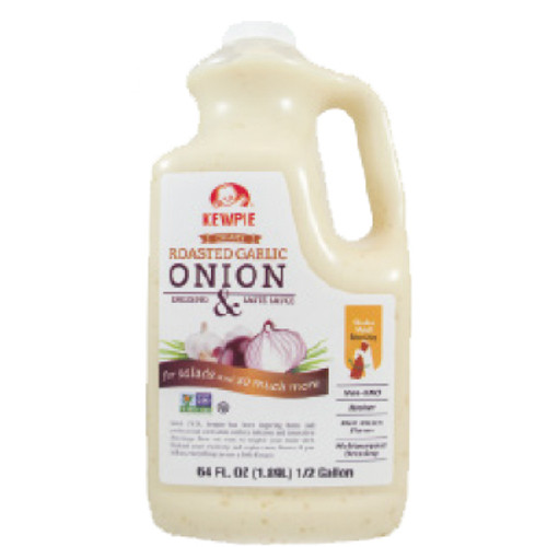 Kewpie Non-GMO Garlic Onion Dressing 64 fl oz / 1890 ml