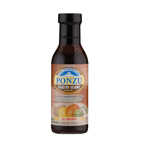 Cold Mountain Organic Ponzu Sauce with Sesame 12 fl oz / 355ml